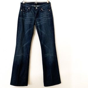 7 for all Mankind Mid-Rise Flare
